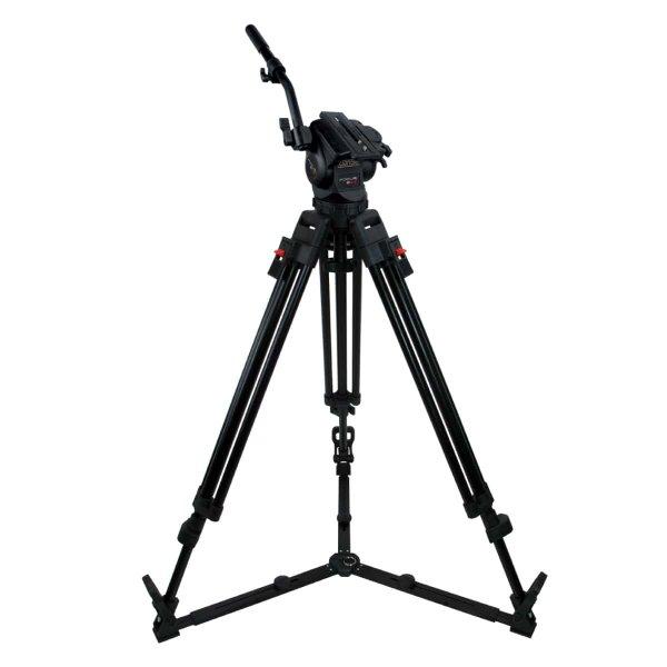 Операторский легкий штатив FOCUS 8S 2st. Alu. Gr. код KF8S-2AG для работы с современными легкими камерами весом до 8 кг можно купить на сайте ООО «ВТ «Опта»