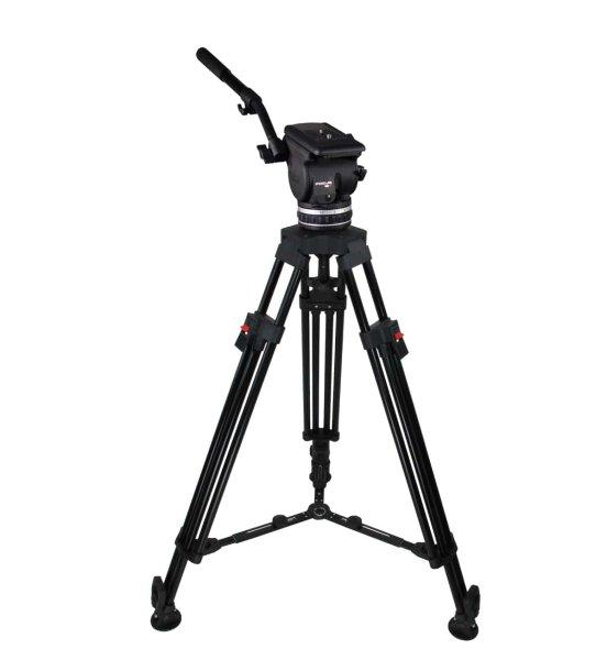 Cartoni Focus 18 Alu. Ml. EFP код KF18-1HM - 1-ступенчатый алюминиевый видеоштатив, рассчитан на нагрузку от 6 до 18 кг. Штативная голова Focus 18. Купить можете позвонив в ВТ Опта ООО