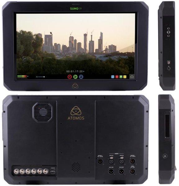 Atomos Sumo 19  монитор видеорекордер студийный 4k - Atomos
