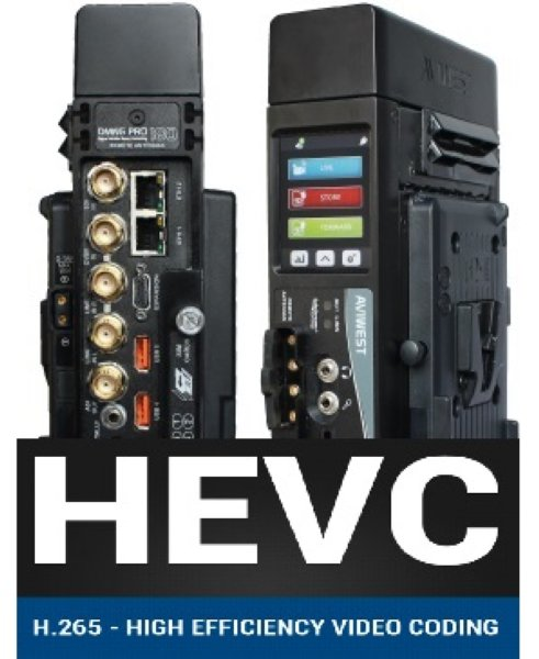 AviWest DMNG PRO380 DMNG PRO380 передатчик HEVC - AVIWEST