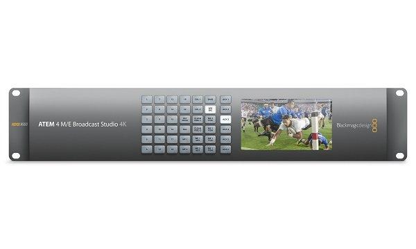 ATEM 4M E br      oadcast Studio 4K видеомикшер ATEM 4 M E br      oadcast Studio 4K-самый современный микшер производителяBlackmagicdesign . У него присутствуют интерфейсы 12G-SDI, 20 син - SWA