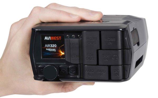 AviWest AIR320 компактный передатчик HEVC - AVIWEST