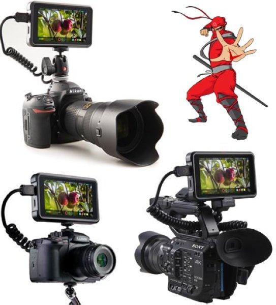 Atomos Ninja V видеорекордер накамерный 4K - Накамерные рекордеры