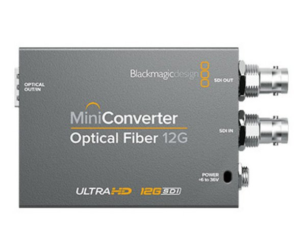Blackmagic Design  Mini Converter Optical Fiber 12G - Mini Converters