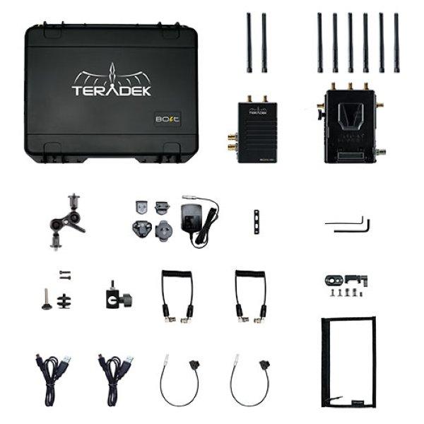 Teradek Bolt 1000 LT Wireless TX RX Deluxe Kit - комплект Полная совместимость с Bolt 1000 третьего поколения, Bolt 1000 XT, Sidekick II и 703 Bolt. У передатчика есть SDI loop out. Также имеет боле -