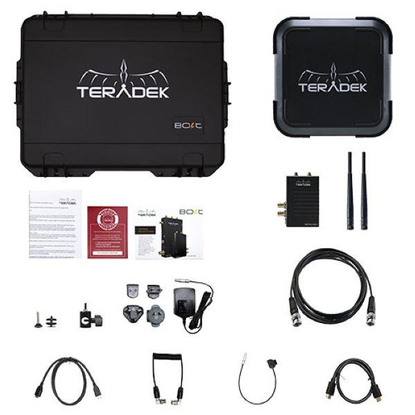 Teradek Bolt 10K XT 3G-SDI HDMI Video TX 2RX Transceiver Set - комплект Полноценный комплект с невероятной дальностью передачи сигнала, порядка 3 км. Совместим с Bolt 3000, 703 Bolt, and Sidekick II.