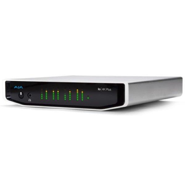 Io 4K Plus AJA Io 4K устройство для захвата и передачи профессиональное видео и аудио с поддержкой 4К и UltraHD. Купить на сайте ОПТА - Io 4K Plus