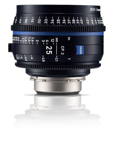 Zeiss  CP.3 - 2.1 25 - metric объектив - CP.3
