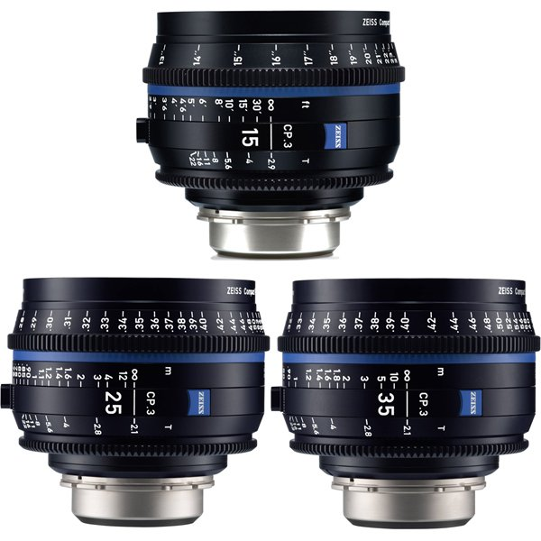 Zeiss  CP.3 - 2.9 15 - metric объектив - CP.3