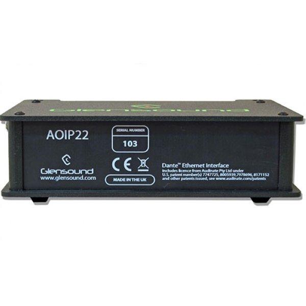 Glensound AoIP22 - аудио интерфейс - Аудиоинтерфейсы