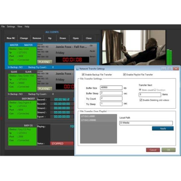 EMS  Easy Net Control - Easy Media Suite