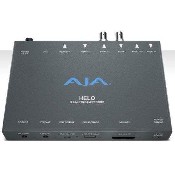 HELO Устройство записи и потоковой передачи H.264 HD   SD с входами   выходами 3G-SDI и HDMI. Запись,