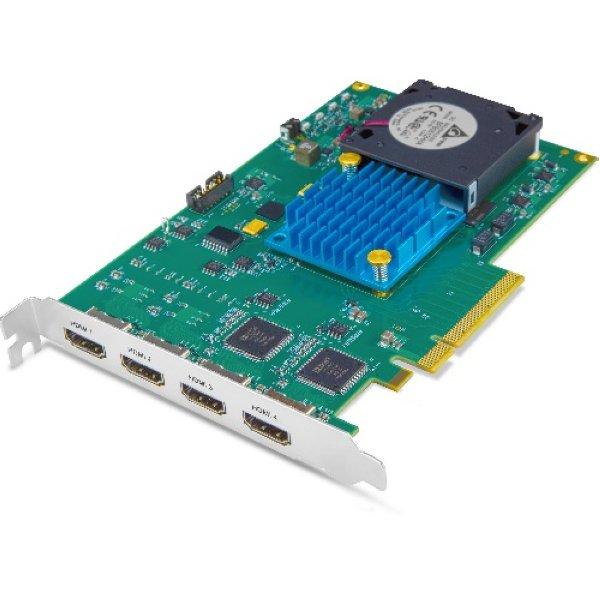 KONA HDMI 4-канальный HDMI Capture 1x 4K   UltraHD или 4x 2K   HD карта PCIe 2.0,