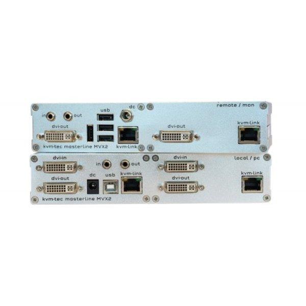KVM-TEC MVX2 Masterline Extender Dual - SET - KVM-TEC