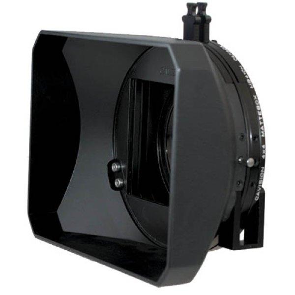 Cavision MB410H-2A 4x4 Hard Shade компендиум. Универсальный двухфильтровый компендиум для компактных ручных и полноразмерных камер. 1фикс. + 1поворотный - MB410H-2A