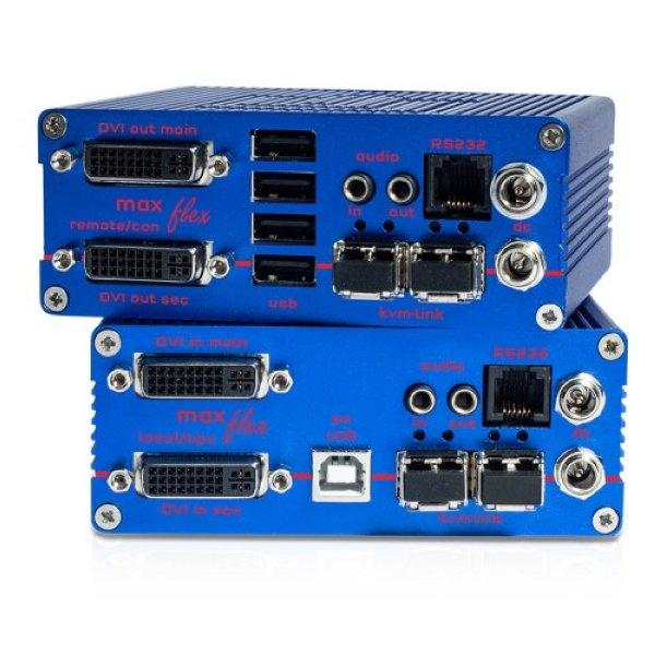 KVM-TEC MA2-F SET Maxflex Dual Fiber SET - KVM-TEC
