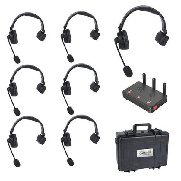 CAME-TV WAERO-7KIT - беспроводная служебная связь WAERO - беспроводной комплект для служебной связи. Связь поддерживается с использованием технологии DECT, что дает хорошую помехоустойчивост - WAERO-7