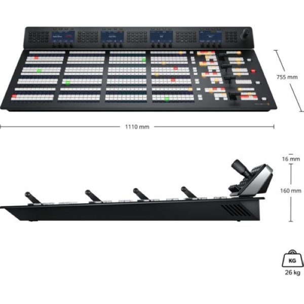 Blackmagic Design  ATEM 4 M E Advanced Panel  кнопочная панель - Эфирные видеомикшеры ATEM