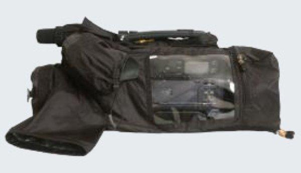 Алми Тета 2 - дождевой чехол для плечевых камер Дождевой чехол TETA разработан для защиты профессиональных видеокамер от воды, мокрого снега и грязи при съемках в самую плохую погоду. Он легок и компа