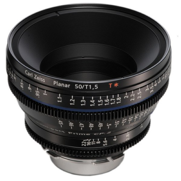 Zeiss Compact Prime CP.2  1.5/50 T* - metric Super Speed - объектив