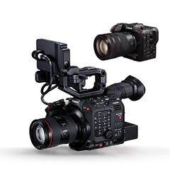 Выбрать и купить оборудование Canon для профессиональное видео в формате HD и фототехнику