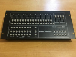 HP-5005 16 channel DMX mixer