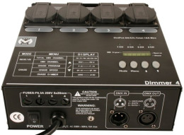 HP-5004 digital dimmer pack 4ch