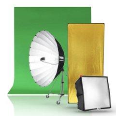 Фоны, фильтры, софтбоксы, отражатели