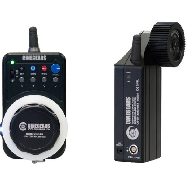 CINEGEARS Express Kit Wireless Follow Focus with Extreme High-Torque Motor - радио-фокус