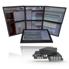Мультиэкранные видеопроцессоры