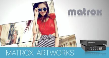 EIZO выбирает Matrox для создания видеостены в новом корпоративном лобби