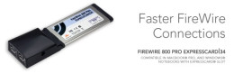 Sonnet Technologies FireWire 800 ExpressCard/34 (2 ports) [Thunderbolt compatible]