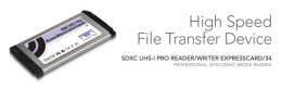 Sonnet Technologies SDXC UHS-I Pro Reader/Writer ExpressCard/34 [Thunderbolt compatible]