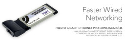 Sonnet Technologies Presto Gigabit Ethernet Pro (Supports Jumbo Packets & Link Aggregation)