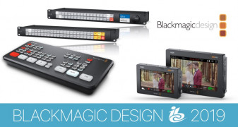Новости BlackmagicDesign,  представленные на IBC 2019